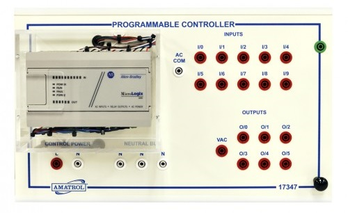 PLC Motor Control Learning System - AB MicroLogix 1000 - 85